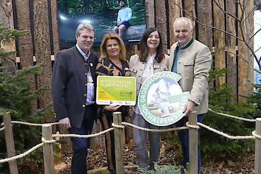 Vertreter der Ferienregion Nationalpark Hohe Tauern bei der Ferienmesse Wien.