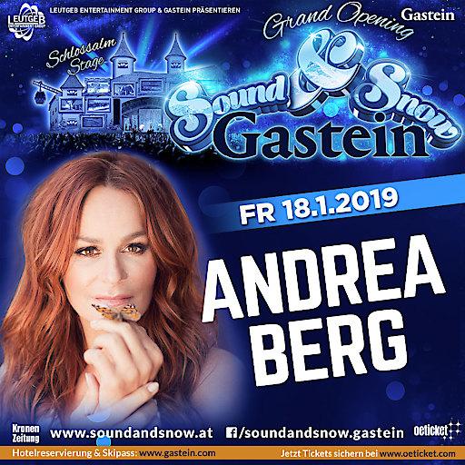 Andrea Berg - Sound & Snow Gastein