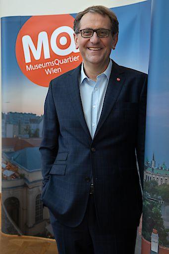 MQ Direktor Christian Strasser