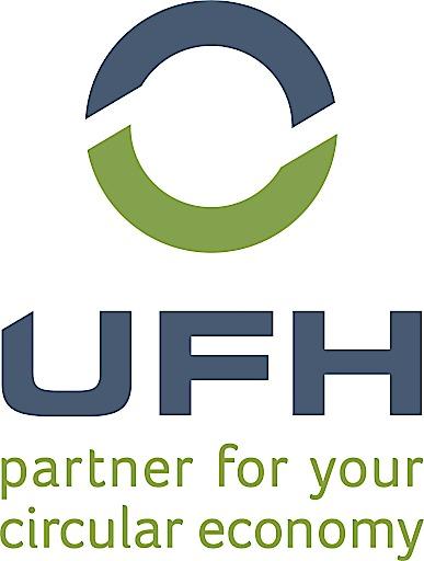 Logo des UFH - partner for your circular economy