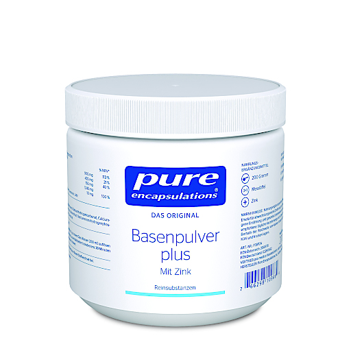 Basenpulver plus mit Zink von Pure Encapsulations