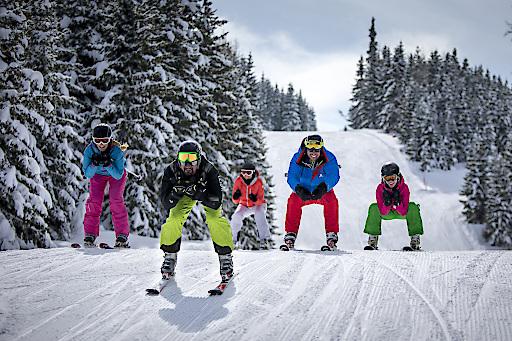 Skifahren im Familienskigebiet Grebenzen
