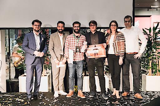 Das Startup Zapiens konnte sich in der Jurywertung der weXelerate Pitch Night durchsetzen.