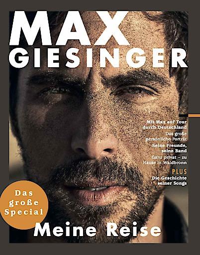 """Cover Fanmagazin Max Giesinger. Weiterer Text über ots und www.presseportal.de/nr/6562 / Die Verwendung dieses Bildes ist für redaktionelle Zwecke honorarfrei. Veröffentlichung bitte unter Quellenangabe: """"obs/Gruner + Jahr GmbH"""""""