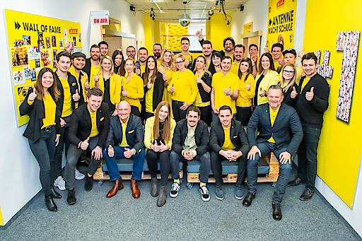 Teamfoto Antenne Kärnten Radiotest