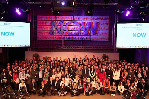 Rund 240 Teilnehmer/innen aus 28 Nationen besuchten die NOW 6 in Wien
