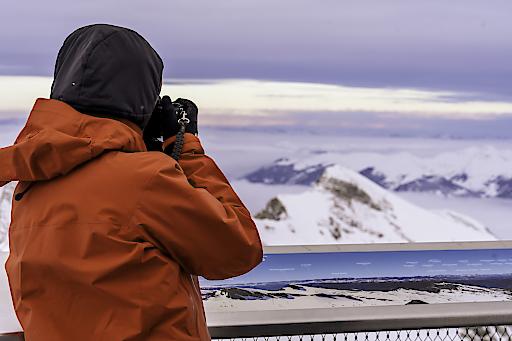 Vom Top of Salzburg am Kitzsteinhorn wurden viele Fotos geschossen und mit den Followern geteilt