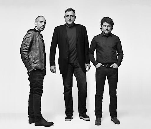 EOOS, v.l.n.r.: Harald Gruendl, Martin Bergmann, Gernot Bohmann, Porträt, 2016