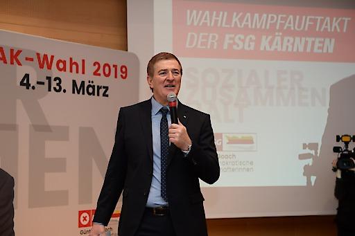 FSG-Spitzenkandidat Günther Goach