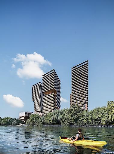 Bis 2021 errichten SORAVIA und ARE DEVELOPMENT auf der überplatteten Erdberger Lände ein einmaliges architektonisches Ensemble, das die Silhouette der Bundeshauptstadt künftig prägen wird.