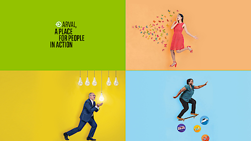 A PLACE FOR PEOPLE IN ACTION – ARVAL MIT NEUER ARBEITGEBERMARKE