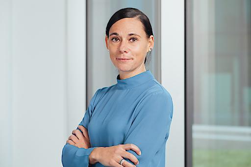Mag. Sabine Reinprecht leitet die Kommunikation der Novartis Gruppe in Österreich