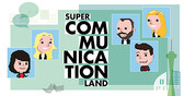 Programm des SUPER COMMUNICATION LAND by news aktuell