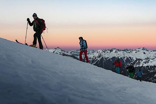 Vorarlberg: Eindrucksvolle Kulisse für erste Skitour, Skitouren, Skitourengehen, Gargellen, Vorarlberg, Montafon, Wintersport