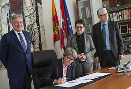 Startschuss für Kooperation zwischen Veterinärmedizinischer Universität Wien und Land Kärnten