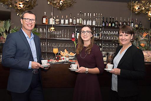 Beim von respACT, dem Global Netzwerk Österreich und der BKS Bank ausgerichteten Unternehmensfrühstück in Klagenfurt präsentierte Borealis kreislauforientierte Plastikwirtschaft.