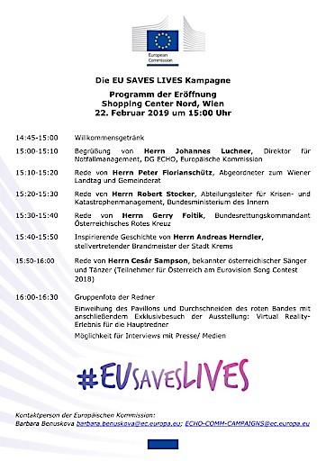 """Einladung zum Pressegespräch: """"EU rettet Leben"""" mit EU-Kommissar Christos Stylianides am 25/02/2019"""