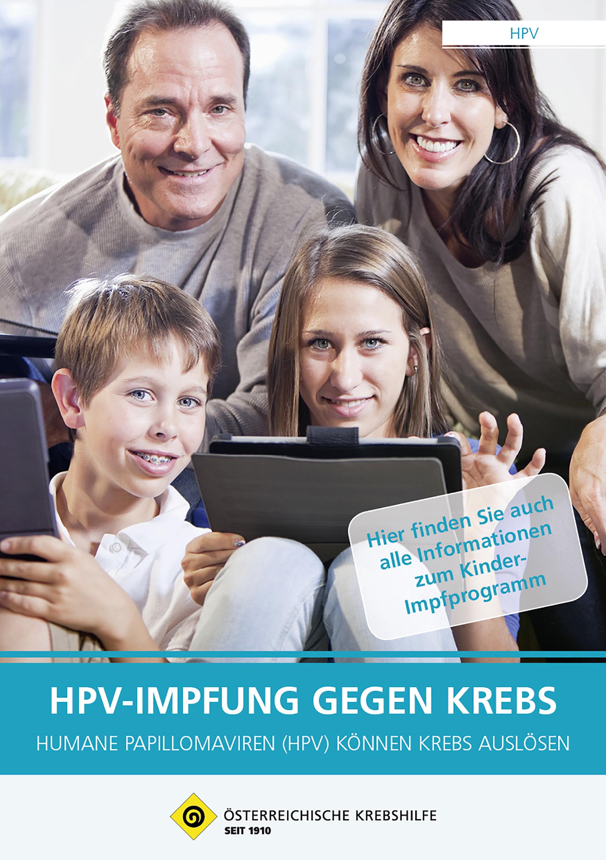 hpv impfung land niederosterreich wartox a talpi szemölcsökből egy gyermekben