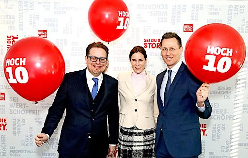 Die Oberösterreichische BezirksRundschau feiert ihren 10. Geburtstag mit einer großen Leserkampagne