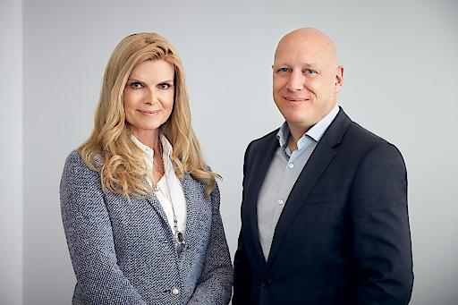 Das neue Vorstandsteam der Ronald McDonald Kinderhilfe: Karin Schmidt und Robert Schedl