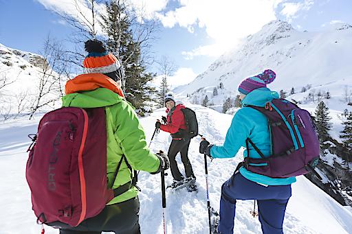 Schneeschuhwandern: Umgeben von 3.000ern Ruhe finden, Vorarlberg, Montafon, Winter, Silvretta, Silvrettasee, Schneeschuhwanderung