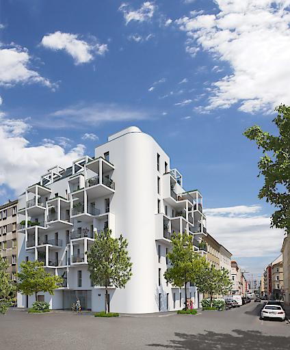 Neue Investmentmöglichkeit der ifa AG: Projekt Buchengasse mit 43 leistbaren Wohnungen im 10. Wiener Gemeindebezirk.