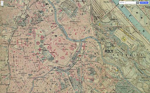 Habsburgermonarchie (1869-1887) -Franzisco-Josephinische Landesaufnahme (1:25000)