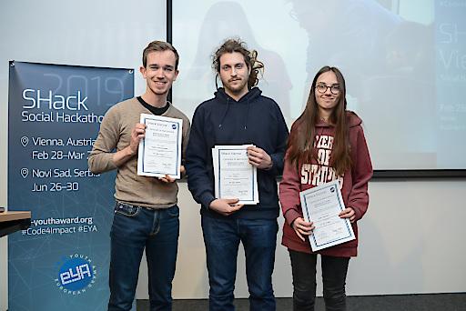 Projekt fit 4 future gewinnt Hackaton im BRZ