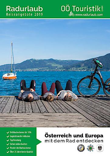 Die Radreiseangebote 2019 von OÖ. Touristik GmbH