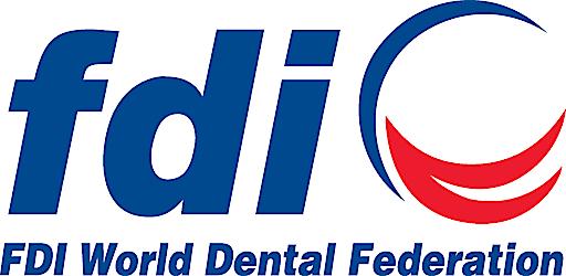 """FDI Logo / Weiterer Text über ots und www.presseportal.ch/de/nr/100059860 / Die Verwendung dieses Bildes ist für redaktionelle Zwecke honorarfrei. Veröffentlichung bitte unter Quellenangabe: """"obs/FDI World Dental Federation"""""""