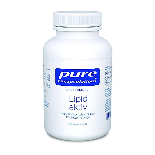 Lipid aktiv von Pure Encapsulations -Nährstoffkomplex für den Cholesterinspiegel