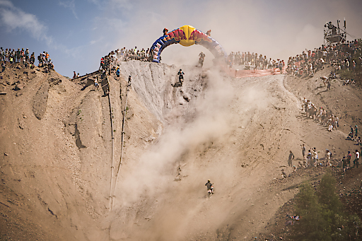 Event Participants perform at Red Bull Hare Scramble in Eisenerz, Austria on June 3, 2018. // Markus Berger / Red Bull Content Pool // AP-1VV5STE852111 // Usage for editorial use only // Please go to www.redbullcontentpool.com for further information. //