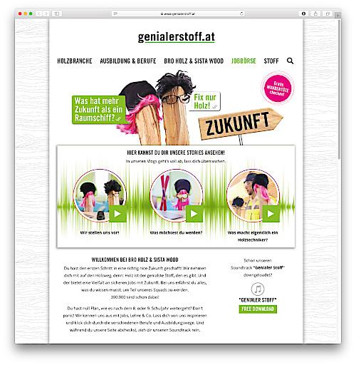 Startpage www.genialerstoff.at