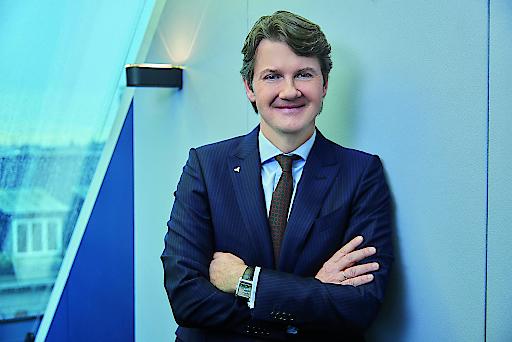 """VOLKSBANK WIEN AG Generaldirektor DI Gerald Fleischmann: """"Das erfreuliche Wachstum im Kreditgeschäft zeigt, dass die Volksbanken in der neuen Struktur ihre Aufgabe als Partner für Österreichs Wirtschaft wirklich wahrnehmen. Wir wollen die Hausbank unserer Kunden sein und die Finanzierung ist einfach unsere Kernaufgabe."""""""
