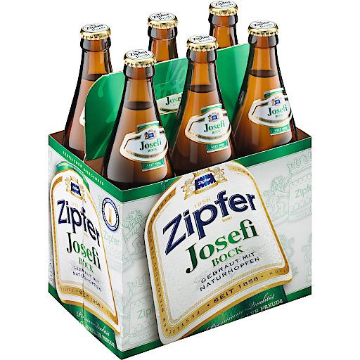 Der Zipfer Josefibock ist während der Osterzeit in der 0,5l Flasche erhältlich.