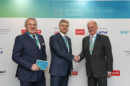 International Railway Congress ein voller Erfolg