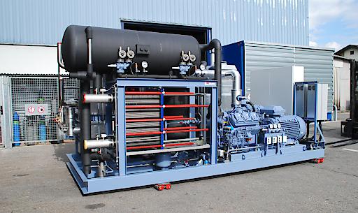 energieeffiziente Wärmepumpen mit natürlichem Kältemittel - ein Beispiel für die neue Technologie von ENGIE