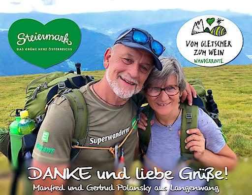 Der Steiermark-Superwanderer Manfred Polansky