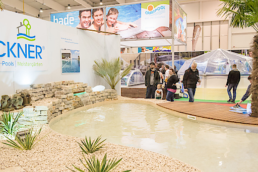 pool + garden Tulln