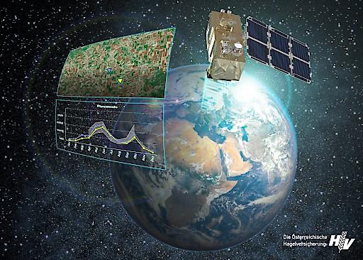 Hagelversicherung: Europaweiter Pionier in der Nutzung von Satellitendaten