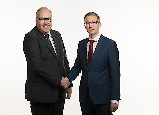 Peter Schnieper (links) und Daniel Reisenberger (rechts)