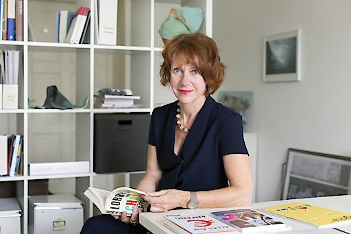 Die Empfängerin des diesjährigen Paul-Watzlawick-Ehrenrings, Ulrike Guérot.