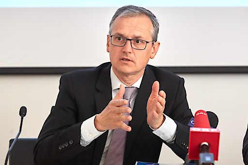 Heute lud die E-Control zum einem Pressegespräch anl. der Präsentation des Tätigkeitsberichts 2018 ein. PHOTO: Dr. Wolfgang Urbantschitsch, LL.M., Vorstand E-Control