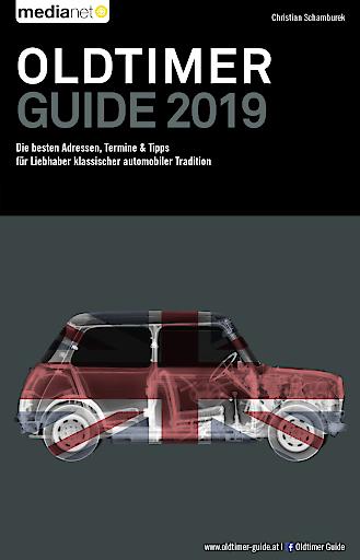 Buchcover - OLDTIMER GUIDE 2019