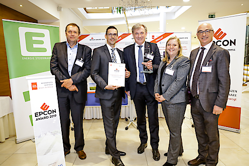 Das Team der Energie Burgenland freute sich über den großen Zuspruch für ihr Projekt.