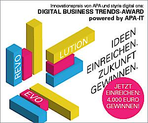 """Einreichungen zum """"Digital Business Trends-Award"""" ab sofort möglich unter www.dbt.at/award"""