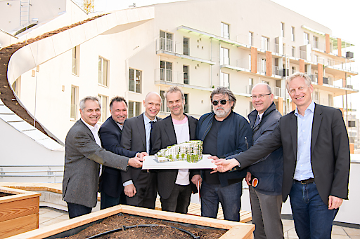 https://www.apa-fotoservice.at/galerie/18147 Markus Zeilinger, fair-finance; Horst Lukaseder, VI-Engineers; Alexander Kopecek, wien 3420; Andreas Machalek, pumar; Martin Mostböck; Heinrich Kugler, wien 3420 und Johannes Pesendorfer, pumar.