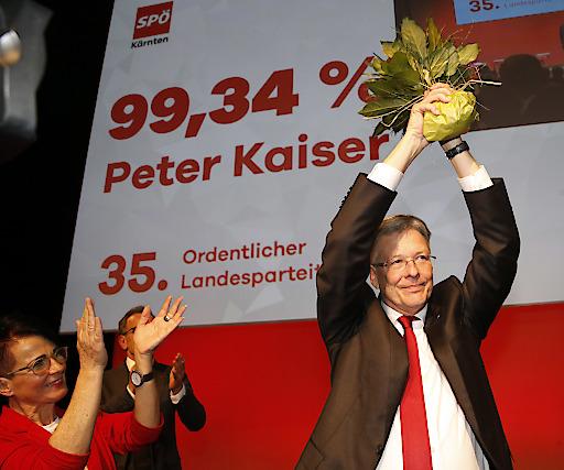 Peter Kaiser Landesparteitag