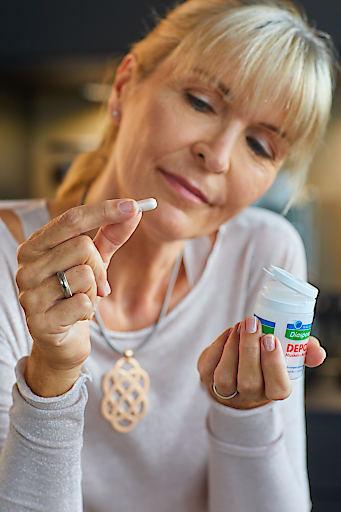 Für alle Frauen, die täglich viel leisten, gibt es jetzt Magnesium-Diasporal Depot Muskeln und Nerven - es sorgt für entspannte Nerven und vitale Muskeln.