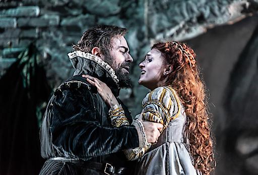 """Alessandro Luciano & Rubens Pelizzari in 'Il bravo' by Mercadante - Wexford Festival Opera 2018. Weiterer Text über ots und www.presseportal.de/nr/9021 / Die Verwendung dieses Bildes ist für redaktionelle Zwecke honorarfrei. Veröffentlichung bitte unter Quellenangabe: """"obs/ARTE G.E.I.E./© CLIVE BARDA/ArenaPAL"""""""